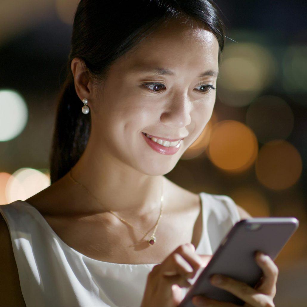 Safeture's technology creates a secure communication