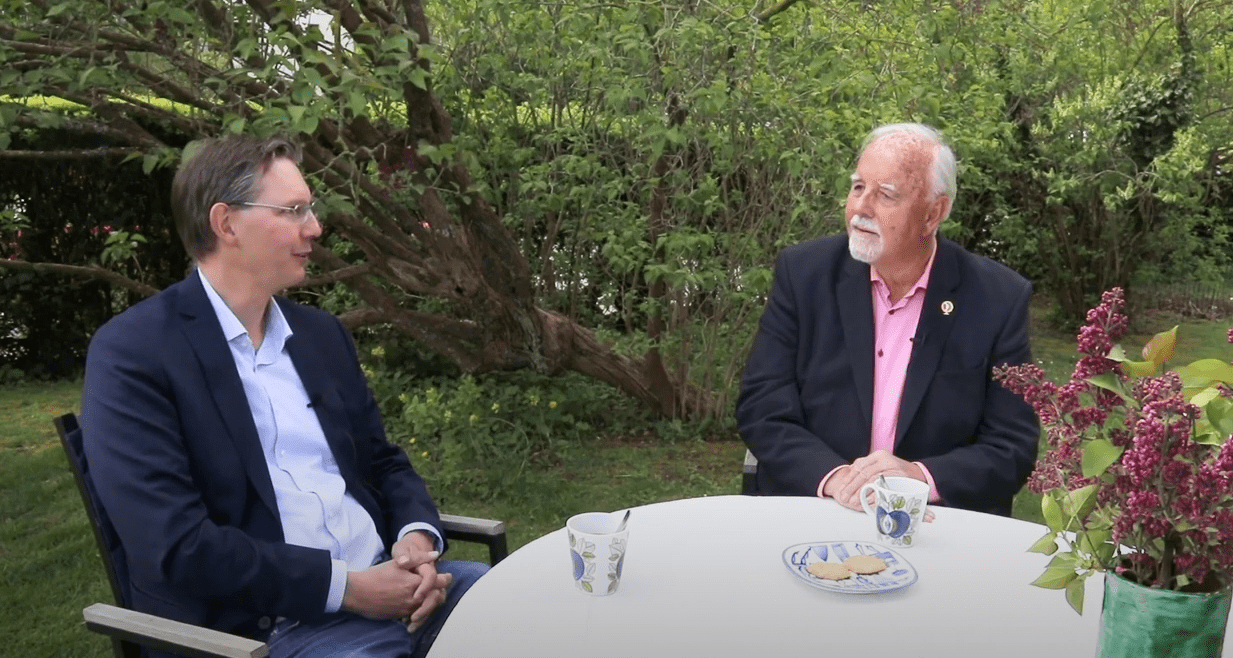 A conversation between two founders