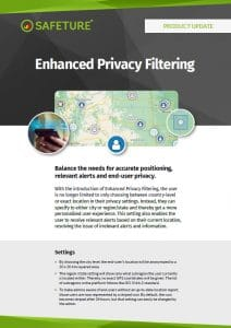 enhanced privacy filtering