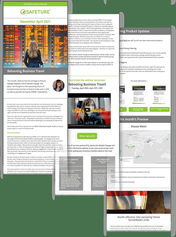 newsletter safeture