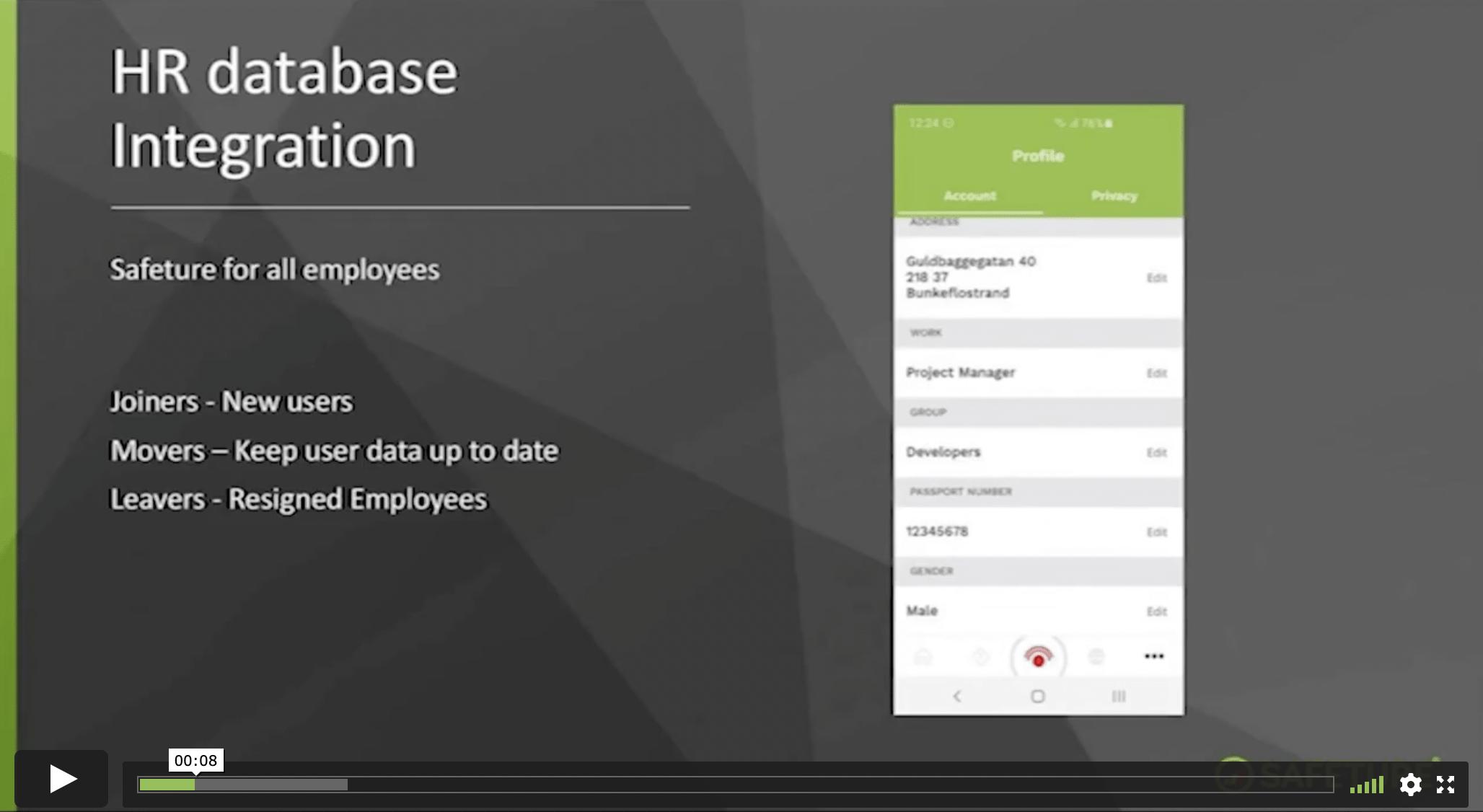 HR-database Integration
