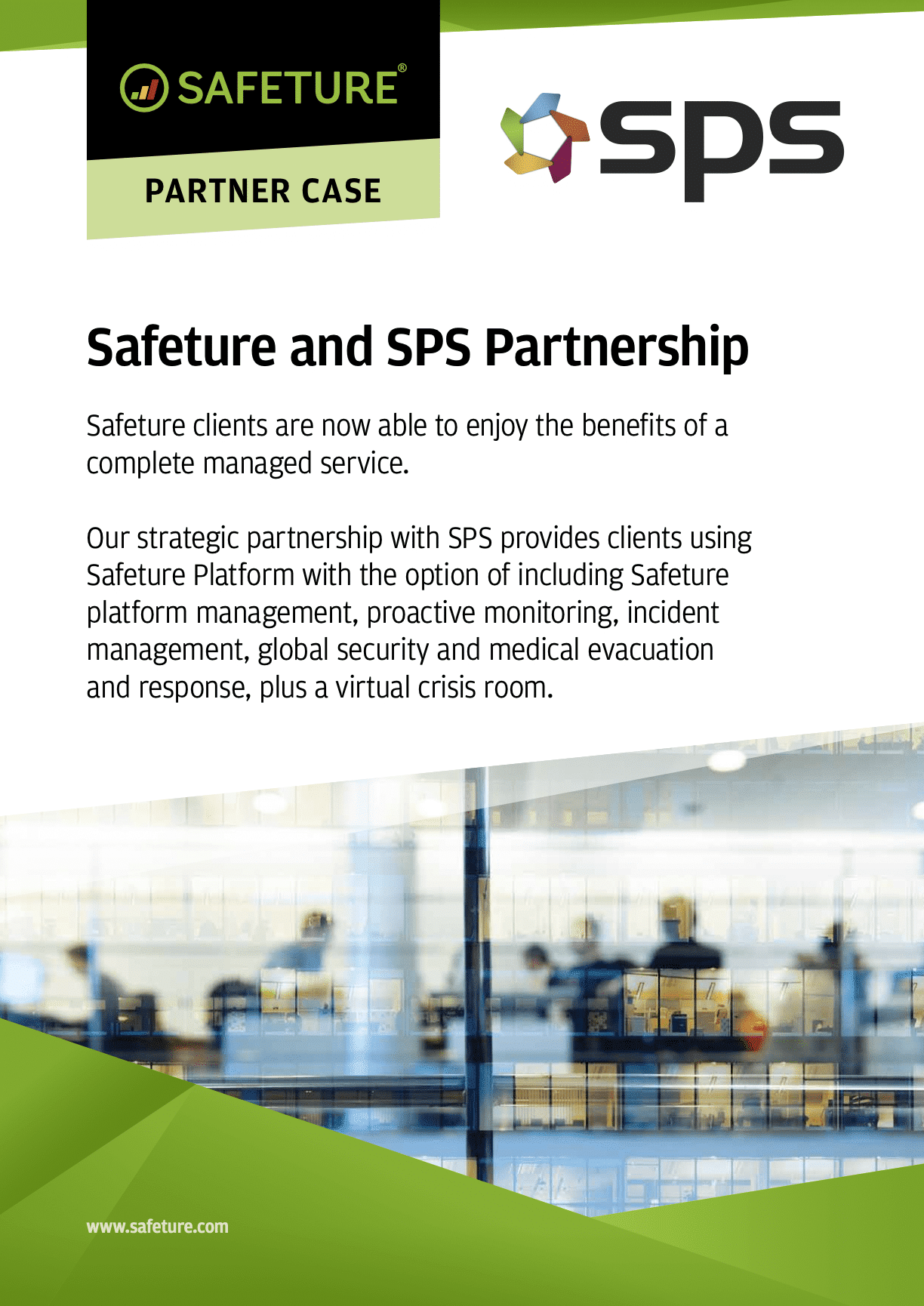 Safeture SPS Partnership