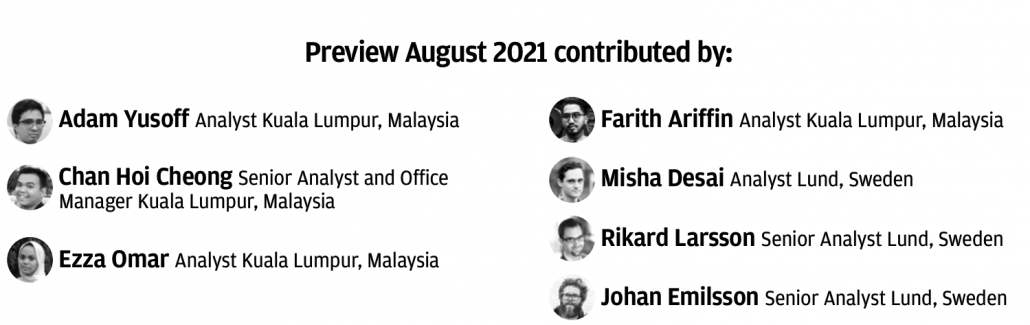 contributors preview august 2021