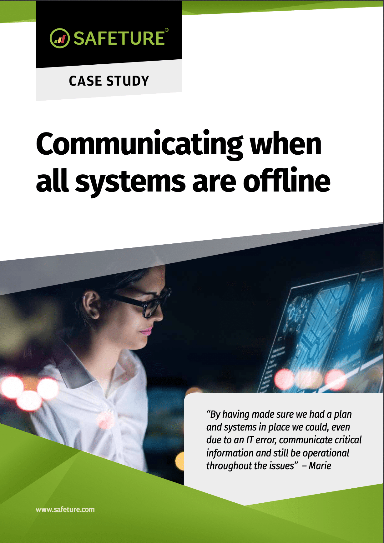 offline communication cover